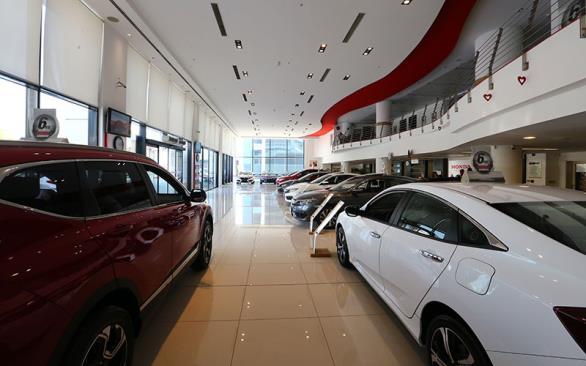 Honda Plaza  Bora