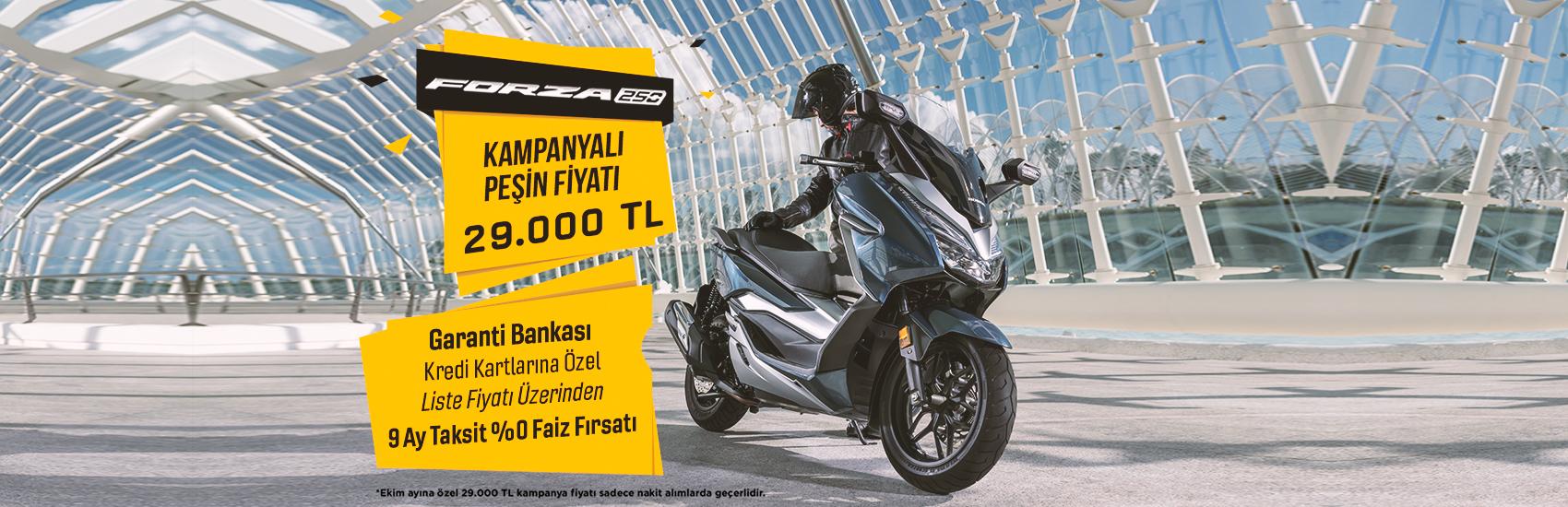 Forza 250 Nakit Alımda İndirim Kampanyası